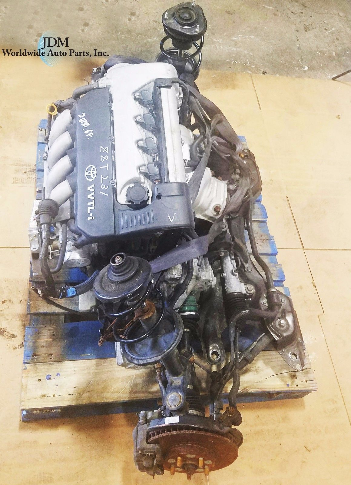 JDM 00-05 TOYOTA 2ZZ-GE ENGINE 1.8L DOHC COROLLA MATRIX VIBE 6SPEED TRANSMISSION