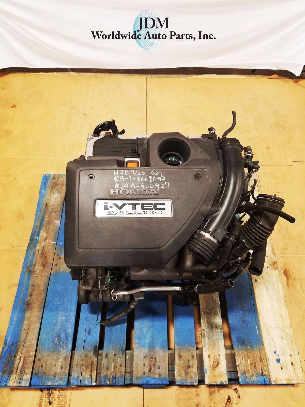 HONDA ACCORD ACURA TSX 2.4L DOHC I-VTEC HIGH COMPRESSION ENGINE JDM K24A K24